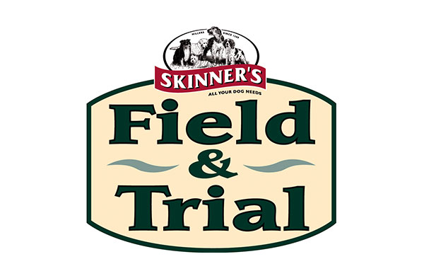 Skinners pet food logo- sponsors of crufts