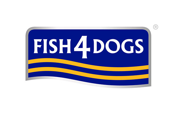 Fish 4 Dogs healthy eating logo - sponsors of crufts
