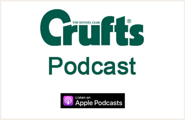 Crufts logo and podcast