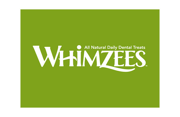 Whimzees dog treats logo - sponsors of crufts